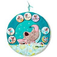 Lilliputiens - Hanging Panel - My Day - Hanging Toys