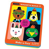 Magnetic box - Create a face - Puzzle