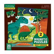Magnetic puzzles - Dinosaurs - Puzzle