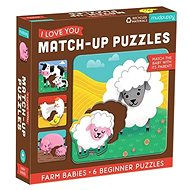 Match-Up Puzzle - Cubs from the farm - Puzzle