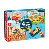 Puzzle 4 in 1 - Four seasons - Puzzle