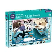 Search and find puzzles - Arctic life (64 pcs) - Puzzle