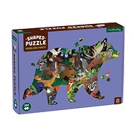 Shaped puzzles - From the forest (300 pcs) - Puzzle