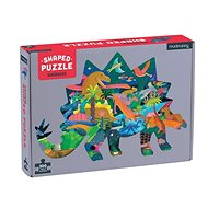 Shaped puzzles - Dinosaurs (300 pcs) - Puzzle