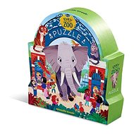 Puzzle Day at the Museum - Day at the ZOO (48 pcs) - Puzzle