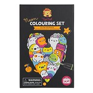 Neon Colouring Sets / Luminous Friends - Colouring Book