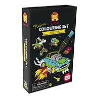 Neon Colouring Sets / Star of the Road - Colouring Book