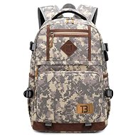 TopBags Unisex student backpack School - Army - Camo - School Backpack