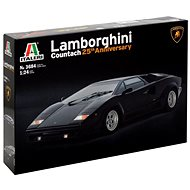 Model Kit car 3684 - Lamborghini Countach 25Th Anniversary
