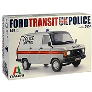 Model Kit car 3657 - Ford Transit Uk Police