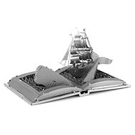 Metal Earth 3D puzzle Book: White whale