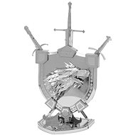 Metal Earth 3D puzzle Game of Thrones: Coat of Arms of Starks (ICONX) - 3D puzzle