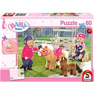 Schmidt Puzzle Baby Born: On a pony farm 60 pieces + a gift - Puzzle
