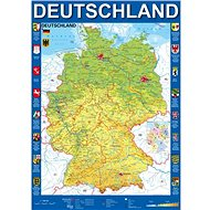 Schmidt Puzzle Map of Germany 1000 pieces - Puzzle