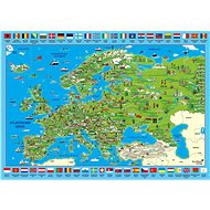 Schmidt Puzzle Illustrated Map of Europe 500 pieces - Puzzle