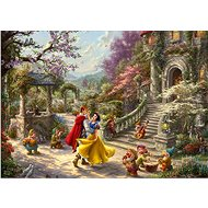 Schmidt Puzzle Snow White dancing in the sunrays 1000 pieces - Puzzle