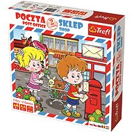 Trefl Post office and shop 2in1 - Board Game
