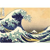 Hit the Big wave off the coast of Kanagawa 1000 pieces - Puzzle