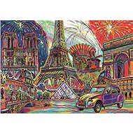 Trefl Puzzle Colors of Paris 1000 pieces