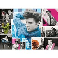 Elvis Presley Puzzle: Forever Young 1000 Pieces - Puzzle