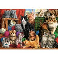 Trefl Puzzle Cat meeting 1000 pieces