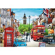 Trefl Puzzle London Street 1000 pieces - Puzzle