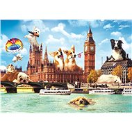 Trefl Puzzle Funny Cities: Dogs in London 1000 pieces - Puzzle