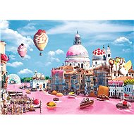 Trefl Puzzle Funny Cities: Sweet Venice 1000 pieces - Puzzle