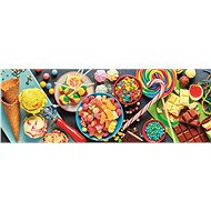 Trefl Panoramic puzzle Sweets 1000 pieces