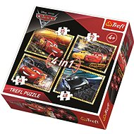 Trefl Puzzle Cars 3: We race 4in1 (35,48,54,70 pieces) - Puzzle