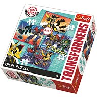 Trefl Puzzle Transformers 4in1 (35,48,54,70 pieces) - Puzzle