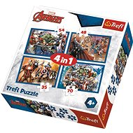 Trefl Puzzle Avengers: We are a 4in1 team (35,48,54,70 pieces) - Puzzle