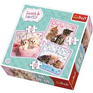 Trefl Puzzle Sweet Kittens 3in1 (20,36,50 pieces)