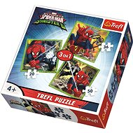 Trefl Puzzle Perfect Spiderman Vs. Crazy six in 3 (20,36,50 pieces) - Puzzle