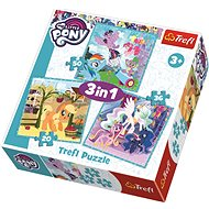 Trefl Puzzle My Little Pony 3in1 (20,36,50 pieces) - Puzzle