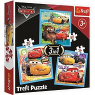 Trefl Puzzle Cars 3: Friends 3in1 (20,36,50 pieces) - Puzzle