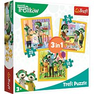 Puzzle Treflíci: Being together is nice 3in1 (20,36,50 pieces) - Puzzle