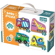 Trefl Baby puzzle Construction vehicles 4in1 (3,4,5,6 pieces)