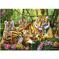 Trefl Puzzle Tiger family of 500 pieces - Puzzle