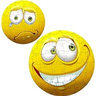 Hit the Puzzleball Yellow Face 96 pieces - 3D puzzle