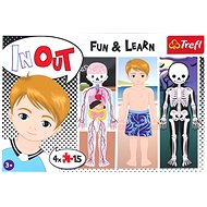 Trefl Puzzle Human body 4x15 pieces - Puzzle
