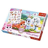 Trefl Puzzle with Tattoos Whisker Heaven: Stories of Palace Pets 50 Pcs - Puzzle