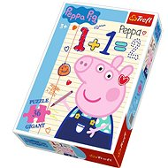 Trefl Puzzle Piglet Peppa: Counting GIGANT 36 pieces - Puzzle