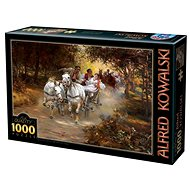 D-TOYS Puzzle Country wedding 1000 pieces - Puzzle
