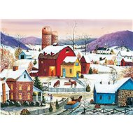 Cobble Hill Puzzle Neighborhood of Winter 1000 pieces - Puzzle