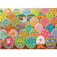 Cobble Hill Puzzle Easter gingerbread eggs 1000 pieces - Puzzle