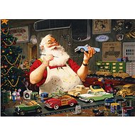 Cobble Hill Puzzle Santa paints toy cars of 1000 pieces - Puzzle
