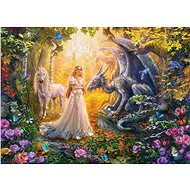 Eurographics Puzzle Princess Garden XL 500 pieces - Puzzle