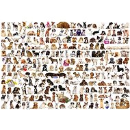 Eurographics Puzzle World of dogs 1000 pieces - Puzzle