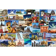 Eurographics Puzzle Globetrotter - a whole world of 1000 pieces - Puzzle